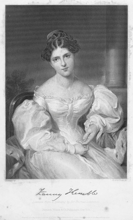 <em>Fanny Kemble</em>. Schomburg Center for Research in Black Culture, photographs and prints division. Courtesy of the New York Public Library.